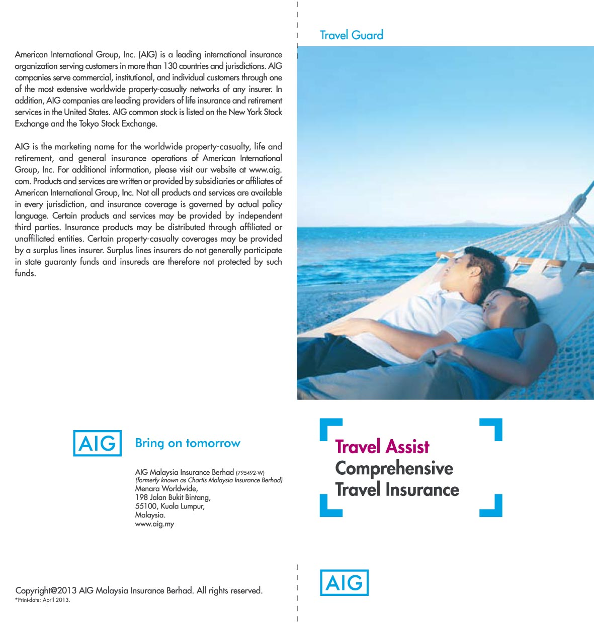 Aig Quote Enjoy Renewal Bonus Increase Up To 100% For Your Comprehensive